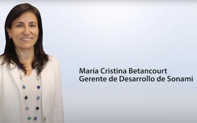 Entrevista María Cristina Betancourt – gerente de Desarrollo de Sonami