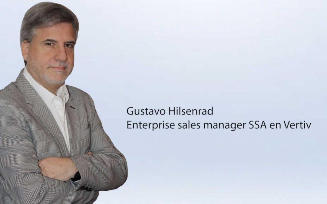 Entrevista Gustavo Hilsenrad, enterprise sales manager SSA en Vertiv