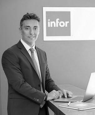 Rubén Belluomo, gerente comercial Cono Sur de Infor