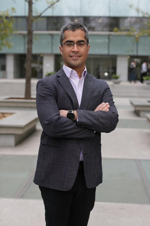 Williams Calderón, académico de la Universidad de Chile