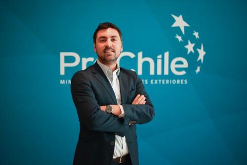 Rodrigo Valenzuela, jefe (S) del Subdepartamento de Servicios e Industrias 4.0 de ProChile
