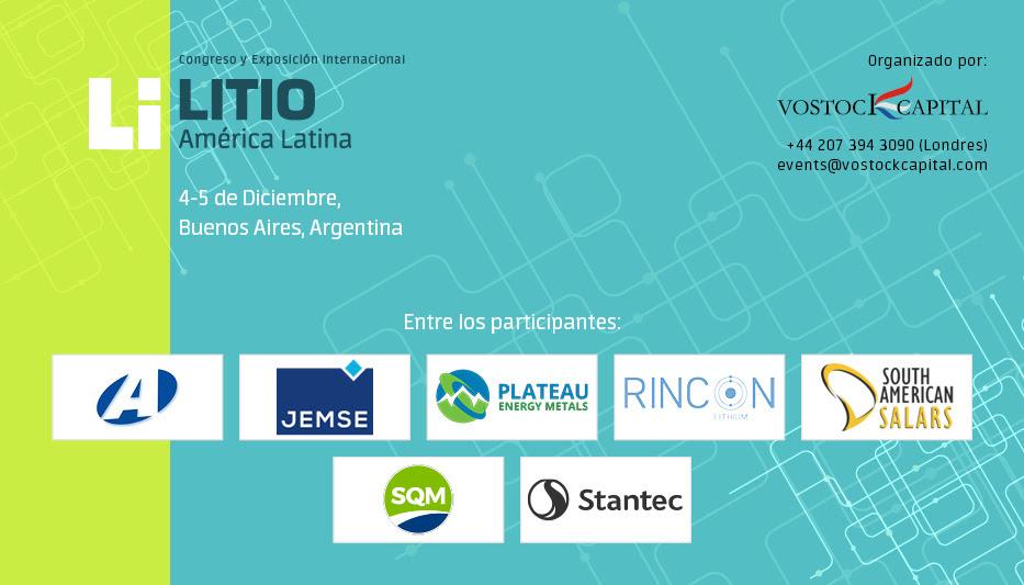 Congreso y Exposición Internacional Lithium Latin America
