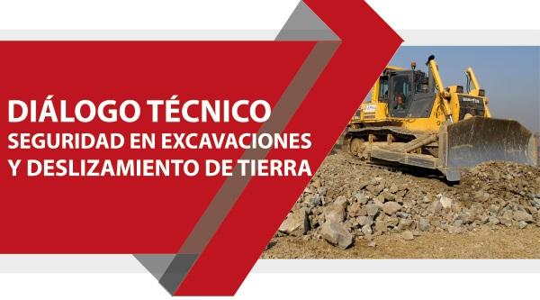 Diálogo Técnico Seguridad en Excavaciones y Deslizamiento de Tierra