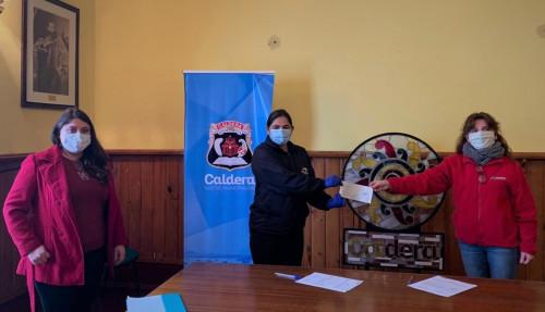 Minera Lumina Copper Chile realiza aporte a la Municipalidad de Caldera para apoyar a emprendedores de la comuna