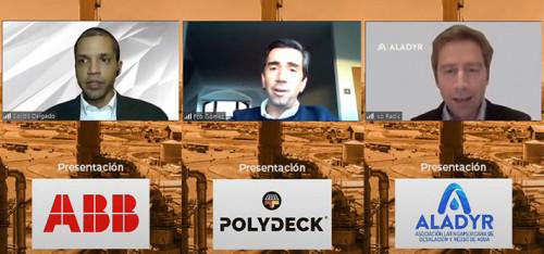 """Empresas socias ABB y Polydeck expusieron en una nueva jornada de Networking """"Club de la Minería"""" Online por Aprimin TV"""