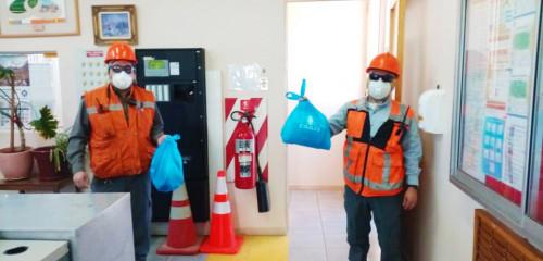 Chuquicamata continúa entregando Kit de Salud para las familias de sus trabajadores