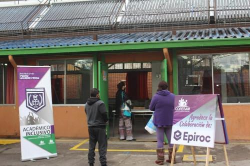 Epiroc Chile realiza importantes donaciones en medio de crisis por Covid- 19