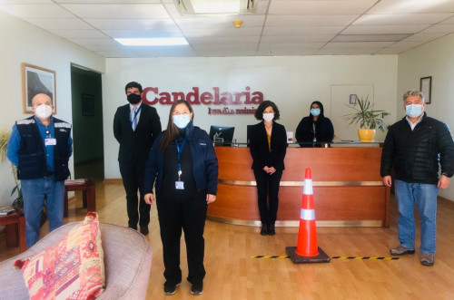 Servicio de Salud comparte con Minera Candelaria estrategias aplicadas en la Red Asistencial para enfrentar la actual pandemia