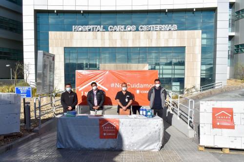 Distrito Norte entregó más de 15 mil insumos sanitarios a personal del Hospital Carlos Cisternas