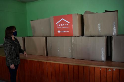 Entrega de kits sanitarios ha beneficiado a cerca de 4 mil familias en Calama y Alto Loa