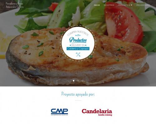 Pescadores y buzos artesanales de Caldera cuentan con nueva página web para comercializar sus productos