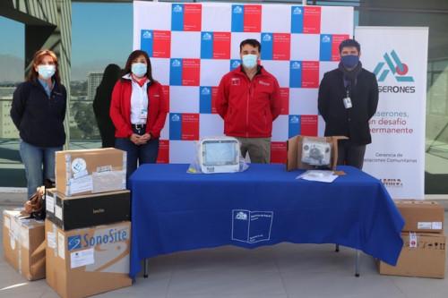 Minera Lumina Copper Chile donó avanzados equipos médicos al Servicio de Salud Atacama