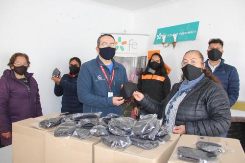 Minera El Abra apoya el emprendimiento local comprando 2 mil mascarillas para su operación