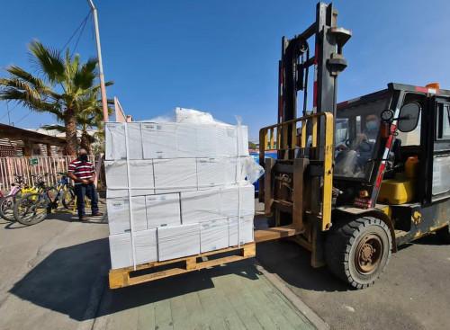 Codelco entregó nuevo aporte de insumos sanitarios a hospitales de Mejillones y Tocopilla