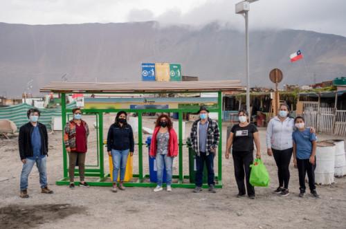 Caletas del sur de Iquique cuenta con nuevo circuito de reciclaje