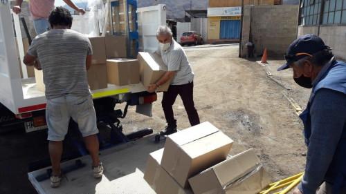 Autoridades destacan programa AIA para entrega de alimentos a familias de la Región de Antofagasta