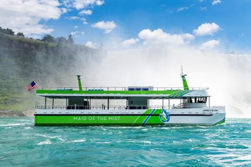 Solución ABB impulsa Ferries eléctricos en las Cataratas del Niágara