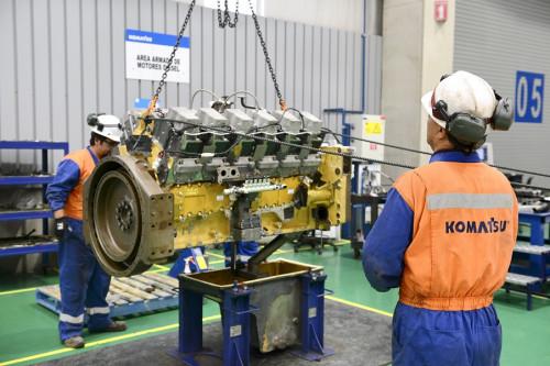Grupo Komatsu Cummins destinó $340 millones de excedentes SENCE para potenciar la formación técnica