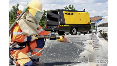 SimmaRent suma a su portafolio de arriendo el compresor Kaeser M250