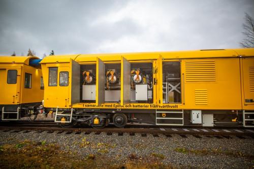 ABB presenta vehículo cero emisiones para mantenimiento de líneas ferroviarias