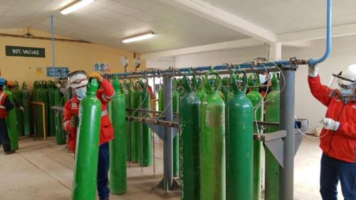Grupo Sigdo Koppers realiza donación de oxígeno a las regiones de Cusco y Apurímac en Perú