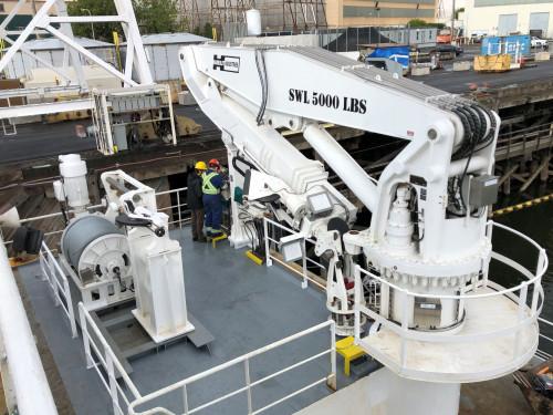 Barco de investigación oceanográfica perfecciona uso de su cabrestante con tecnología de control ABB