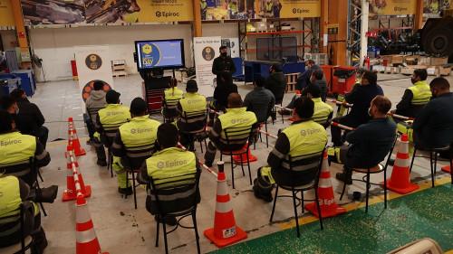 Epiroc establece desafío de lograr ambientes de trabajo libre de lesiones al año 2030