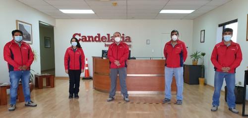 Minera Candelaria premió a sus trabajadoras y trabajadores más destacados