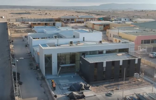 Avanza construcción de Centro de Diálisis de Caldera