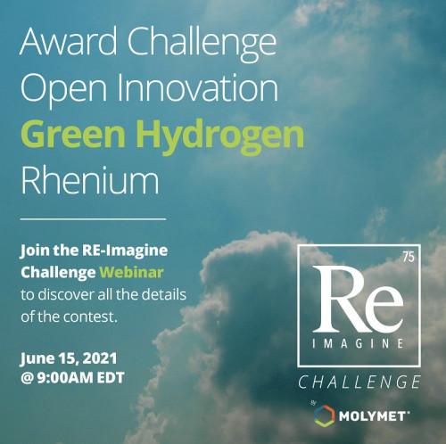 Re Imagine Challenge: El primer desafío de innovación que busca el desarrollo de hidrógeno verde por medio del Renio