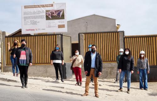 Avanza construcción de sede social del Sindicato SITIMAR de Caldera
