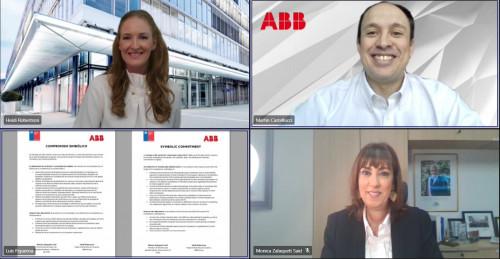 Grupo ABB firma compromiso con Ministerio de la Mujer y Equidad de Género en Chile