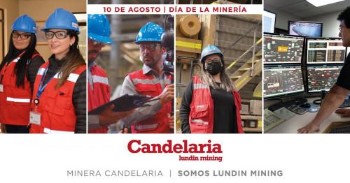 Minera Candelaria comprometida con una mayor presencia de la mujer en el ámbito minero