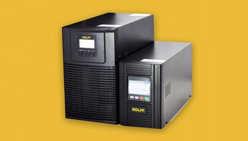 Alta eficiencia y calidad, los beneficios de la UPS KOLFF BLACK 1K a 3K para el sector Retail