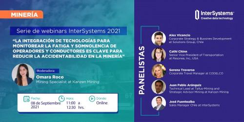 Webinar de InterSystems abordará la importancia del monitoreo de fatiga y somnolencia de operadores y conductores a través de la integración de tecnología