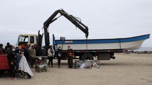 Sindicato Bucaneros del Mar de Caldera recibió equipamiento para la extracción y cuidado sustentable de mariscos y algas