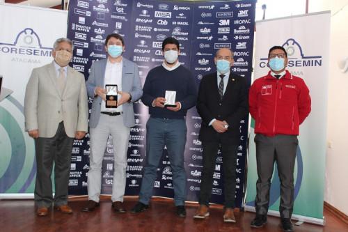Brigada de rescate de Minera Carola se adjudica el premio Coresemin en homenaje a la minería