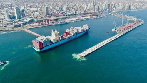 Puerto Antofagasta comenzará obras de conservación de su principal molo de abrigo