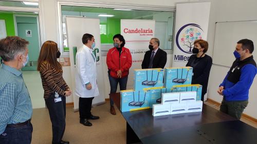 Entregan equipamiento al Hospital Regional de Copiapó para programa de visitas virtuales a pacientes Covid