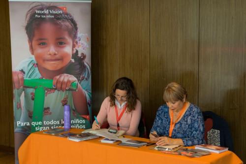 Expo Element destaca compromiso con los niños del mundo junto a World Vision