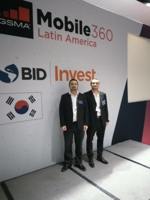 """Tesacom asiste a evento GSMA Mobile 360 – Latin América"""" en ciudad de México"""