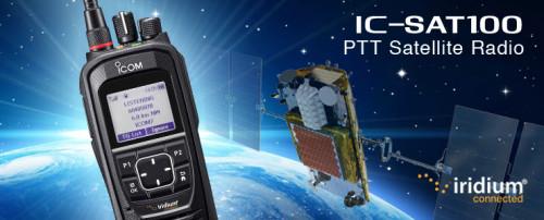 Tectel presenta radio satelital ICOM que opera con constelación de Iridium