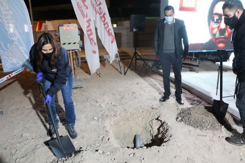 Municipalidad de Caldera y Minera Candelaria pusieron primera piedra de futuro centro de diálisis comunal