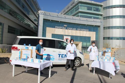 ENGIE dona 8 mil test rápidos en la región de Antofagasta