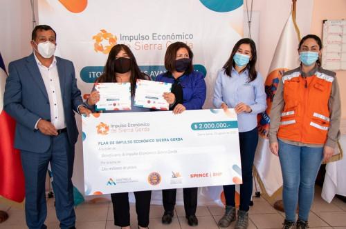 Antofagasta Minerals concreta aportes para reactivación económica de los territorios