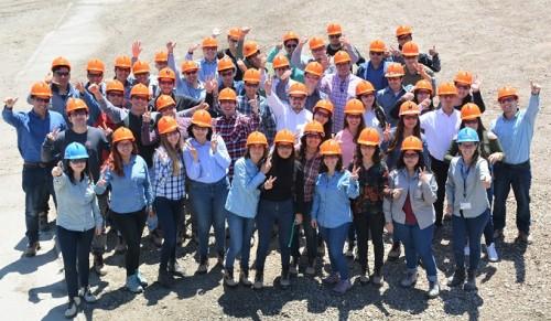Minera Candelaria inicia prácticas profesionales de verano