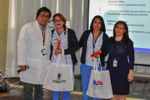 Reconocen a integrantes del Hospital del Cobre por su aporte en la transformación