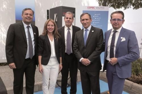 ABB y Copec crean la red de carga de vehículos eléctricos más extensa de Chile