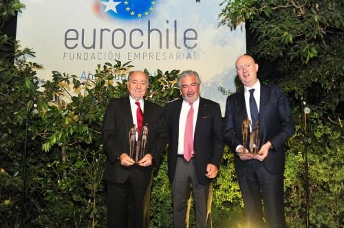 Fundación EuroChile distingue a Juan Eduardo Errázuriz por su aporte a las relaciones empresariales entre Chile y Europa