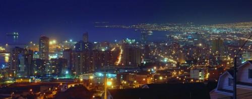"""Sólo el 20 porciento de la luz generada en los postes alcanza el área de iluminación deseada lo demás es contaminación lumínica"""""""